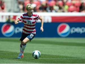 Megan Rapinoe. Photo courtesy of U.S. Soccer.