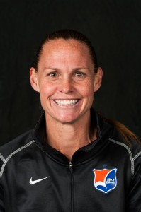 Sky Blue FC defender Christie Rampone