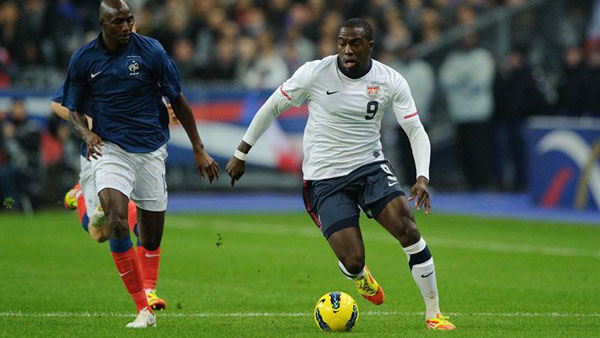 Jozy Altidore. Photo property of U.S. Soccer.
