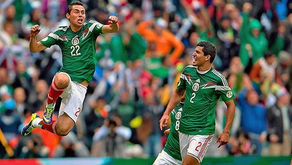 Mexico vs. New Zealand - Nov. 13, 2013. Image property of CONCACAF.com