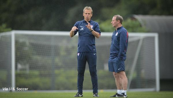 Jurgen Klinsmann Berti Vogts