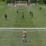 Rear-cam-view-of-soccer-match